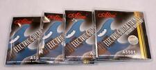 4 X Juegos De Alice Doble Bola final Guitarra Eléctrica Cuerdas / Plateado Acero / 10-46