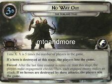 Lord of the Rings LCG  - 1x No Way Out  #013 - The Dunland Trap