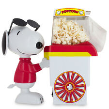 NEW PEANUTS SNOOPY PUSH CART POPCORN POPPER MAKER SMART PLANET CHRISTMAS
