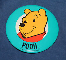 NICE DISNEY WINNIE THE POOH PIN BACK BUTTON 3 1/2""