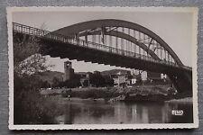 Carte postale LANGEAC Pont Alexandre Bertrand, quai eglise Haute Loire