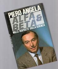 alfa e beta - mille risposte sulla sci - Piero Angela -