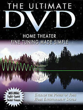 The Ultimate DVD Home Theater Fine Tuning Made Simple (DVD, 2005)