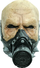 BRAND NEW Gas Mask Chemical Mutant ADULT LATEX BIOHAZARD AGENT HALF MASK