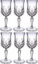 RCR OPERA CRYSTAL GLASS - SHERRY GLASSES 12cl (BOX OF 6) - NEW