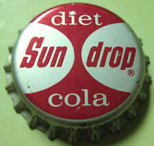 SUN DROP DIET COLA Cork Bottle CAP, Crown, Concord, NORTH CAROLINA 1950's