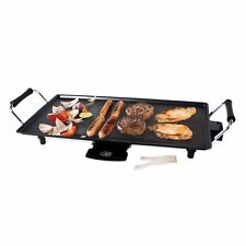 Unibos Electric Teppanyaki Table Grill Griddle BBQ Skillet Hot Plate 2000W