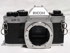 Ricoh KR-5  35mm SLR camera body only, - Pentax K (PK) lens mount SN50208573