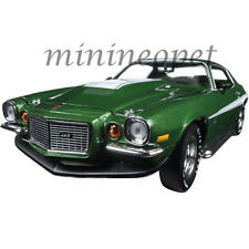 AUTOWORLD AMM1079 1970 BALDWIN MOTION CHEVROLET CAMARO 1/18 DIECAST MODEL GREEN