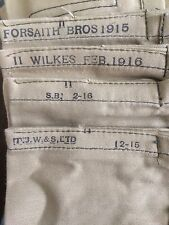 REPRODUCTION WORLD WAR ONE BRITISH MK II COTTON BANDOLIER SMLE .303 WILKES 1916