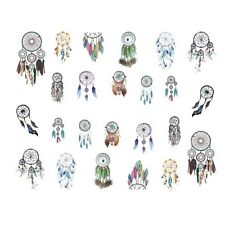 Nail Art Sticker Water Decals Transfer Stickers Indian DreamCatchers (DS438)
