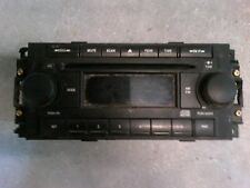 CHRYSLER DODGE JEEP AM/FM RADIO CD STEREO AUDIO PLAYER P/N p05091710ag