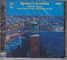 """Opus 3 Records """"Mattias Wager - Hymne a l'univers"""" Hybrid Stereo SACD New Opus3"""
