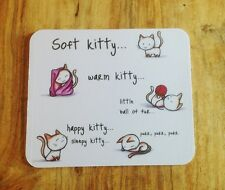 Big Bang inspired Soft Kitty Mousepad
