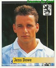197 JENS DOWE GERMANY TSV.1860 MUNCHEN STICKER FUSSBALL 1995 PANINI