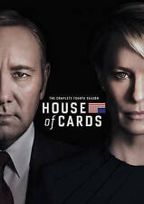 House of Cards: The Complete Fourth Season 4 (DVD, 2016, 4-Disc Set) New