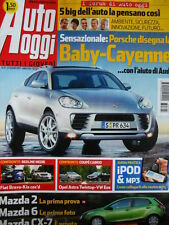 Auto Oggi n°4 2001 Dodge Super8 Hemi Lexus IS 300 SW Jeep Cherokee  [P45]