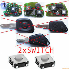 2 BOUTONS SWITCH PEUGEOT 106 206 306 405 BOXER PARTNER