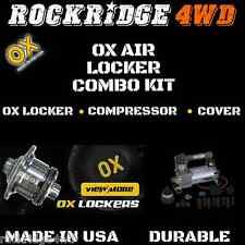 Ox Air Locker WITH Air Compressor Kit for Dana 44 Jeep JK/JKU Rubicon 35 spline