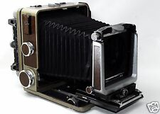 *Very good* Wista 45D, 4x5 Format Folding Field Camera Brown color From JAPAN