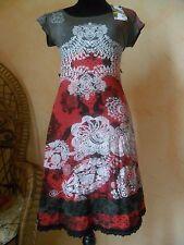 Superbe robe femme neuve et étiquetée de marque Desigual taille S imprimée