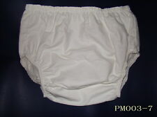 New Adult Incontinence Flannel pants inside PVC #PM003-7-L