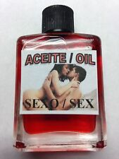 MYSTICAL / SPIRITUAL OIL (ACEITE) FOR SPELLS & ANOINTING 1/2 OZ FOR SEX (SEXO)