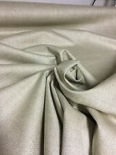 BEAUTIFUL CREAM LINEN BACK COATED UPHOLSTERY FABRIC 3 METRES