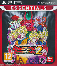 Dragon Ball Raging Blast 2 Essentials for PS3 SEALED NEW