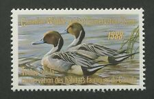 CANADA B.O.B. FEDERAL WILDLIFE HABITAT CONSERVATION STAMP FWH4 MINT VF NH