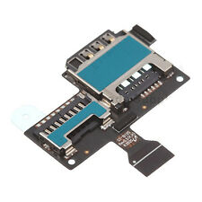 ORIGINALE Samsung Galaxy s4 MINI 9195 Sim Card & SD Memory Card Reader FLEX