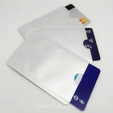 5 pcs RFID Blocking Sleeves, Secure Credit Card Protection BUY 2 QTY GET 1 FREE!