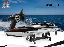 Remote Control RC Racing Boat FT012 Brushless Motor 2.4G Super High Speed Boat