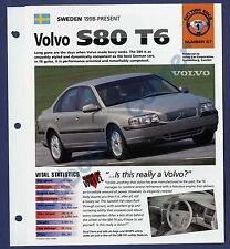 Volvo S80 T6 IMP Brochure Specs 1998-Present Group 1, No 67