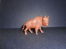 Figurine La Roche aux Fées BISON animaux de la prairie DAVY CROCKETT 1976 n°4