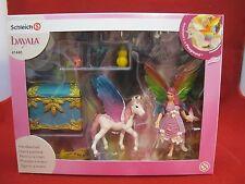 Schleich , bayala , Regenbogenelfe Lis mit Pegasus Einhornfohlen , Nr. 41440 NEU