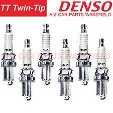 B077K20TT For Audi A4 2.4 quattro 2.6 2.8 3.0 Denso TT Twin Tip Spark Plugs X 6