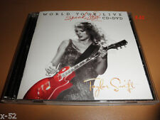 TAYLOR SWIFT rare TARGET exlcusive WORLD TOUR LIVE cd + dvd WHITE COVER