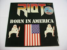 RIOT - BORN IN AMERICA - LP VINYL 1983 ZYX RECORDS GERMANY - EXCELLENT