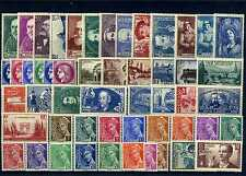 FRANCE ANNEE COMPLETE 1938 NEUF ** SANS CHARNIERE COTE 749€