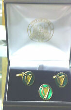IRISH VOLUNTEER ARMY 1913-2013 CUFF LINKS & BADGE CASED 100.th Anniversary Issue