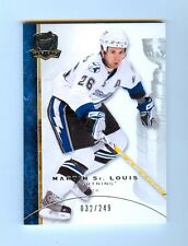 "08-09 UPPER DECK ""THE CUP"" MARTIN ST. LOUIS BASE #26 32/249"