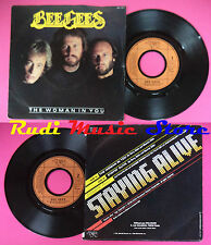 LP 45 7'' BEE GEES The woman in you Stayin'alive 1983 france RSO no cd mc dvd
