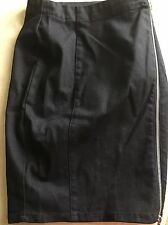 Diesel Black Denim DE-TRAX Skirt Size 25 New NWT