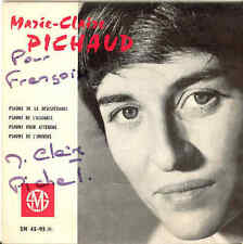 Marie-Claire Pichaud Chants Bibliques No.4 60s EP Signed Cover!
