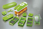 12-in-1 Food Slicer N Dicer Plus Vegtable Fruit Cutter Peeler Chopper Nicer Cont