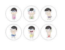 Osomatsu-san Chibi Anime Button Badge Pins #2