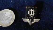 Fussball Brosche Badge U.I.C Budapest 1958 - International Union of Railways Zug