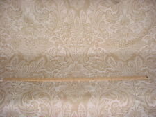 12Y BEAUTIFUL COWTAN TOUT FIORENTINA FLORAL DAMASK LINEN UPHOLSTERY FABRIC