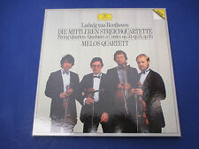 Beethoven Melos Quartett, 415-342, 3 Record Set With Score